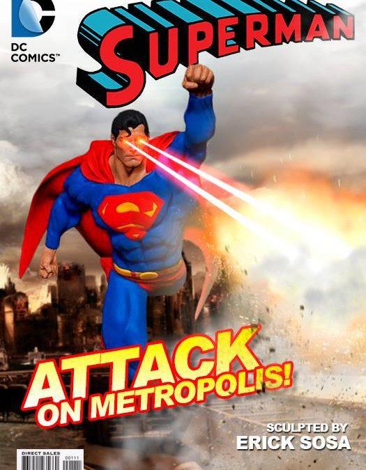 Superman Zbrush